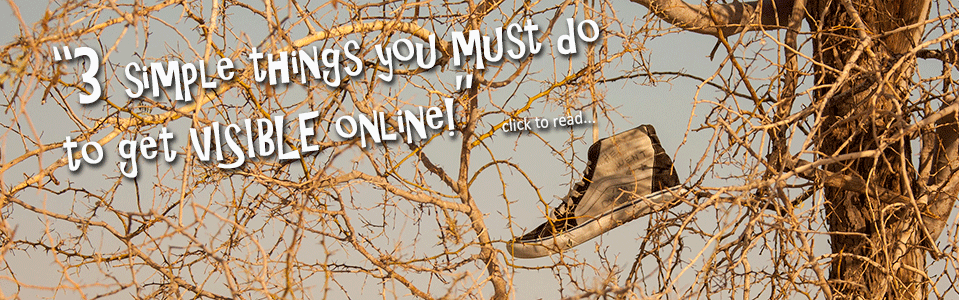 3 Things You Must Do to Get Visible Online